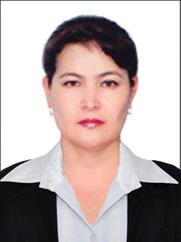 Abduraxmonova Shoxidaxon Abduqodirovna